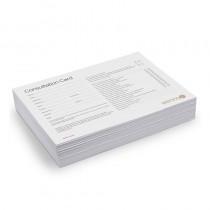 Sienna X Client Consultation Cards x 50