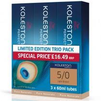 Wella Koleston Perfect 60ml 55/0 Intense Light Brown Value Trio Pack