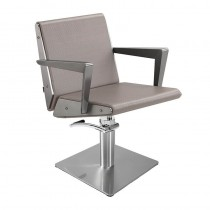 Lotus Arkin Mink Styling Chair With Square Base