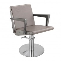 Lotus Arkin Mink Styling Chair With Round Base