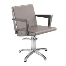 Lotus Arkin Mink Styling Chair With Star Base