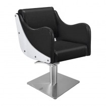 Lotus Senna Black Styling Chair With Square Base