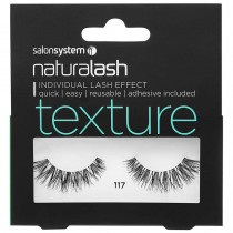 Salon System Naturalash 117 Black Texture Strip Lashes
