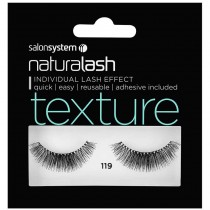 Salon System Naturalash 119 Black Texture Strip Lashes
