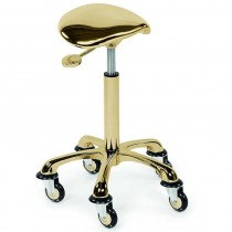 Sibel RollerCoaster Eccentric Stool Gold