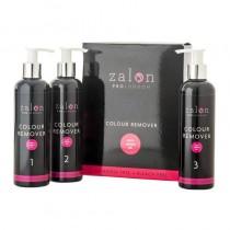 Zalon Pro London Colour Remover Salon Size - 5 Applications 3 x 250ml