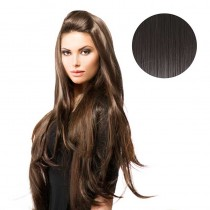 BiYa Seamless 3/4 Wig 2 Darkest Brown