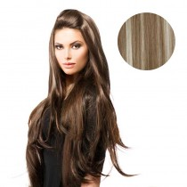 BiYa Seamless 3/4 Wig 18p613 Brown/Blonde
