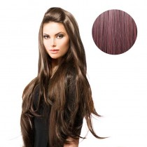 BiYa Seamless 3/4 Wig 99j Deep Wine Red