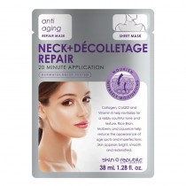 Skin Republic Neck & Decolletage Repair Mask Sheet 38ml Pack of 10