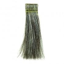 Pivot Point Dark Grey Hair Swatches 50 pieces 6in