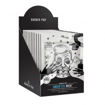 BARBER PRO Under Eye Mask Retail Display Case Box of 12