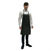 Hair Tools Mens Barber Apron Charcoal