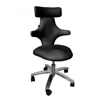 Lotus Monroe Therapist Stool Black