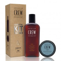 American Crew Fiber Essential Kit For Men