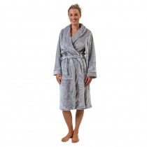 Supersoft Silver Robe Small/Medium