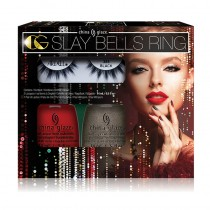 China Glaze Slay Bells Ring - Nail design/ Lash Kit