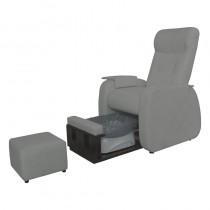 Lotus Merton Pedicure Spa Chair Grey