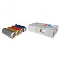 Procare Premium Extra Wide Coloured Foil 4 Pack 4 x 12cm x 50m