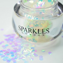Sparkles London Taylor Big & Chunky White Face Glitter