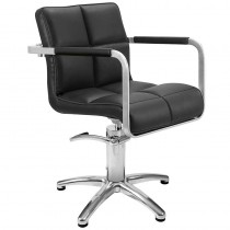 Lotus Caplan Black Styling Chair With Star Base