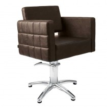 Lotus Washington Chair Brown With Star Base