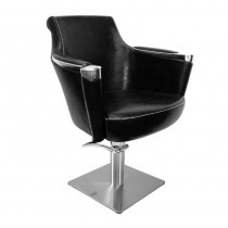 Lotus Barrett Styling Chair Black With Square Base