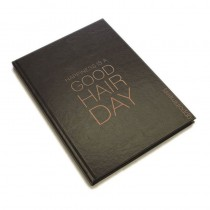 Agenda Appointment Book 6 Column Black + Rose Gold