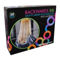 Framar Backwards Bibs Clear Pack of 50