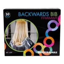 Framar Backwards Bibs Clear Pack of 50