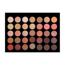 Crown Brush 35 Colour Rose Gold Eye Shadow Palette