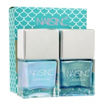 Nails Inc Mermaid Duo Kit 2 x 14ml