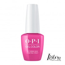 OPI Gelcolor No Turning Back From Pink Street Lisbon Collection 15ml