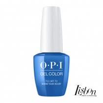 OPI Gelcolor Tile Art to Warm Your Heart Lisbon Collection 15ml