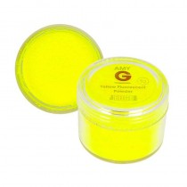 Amy G Yellow Fluorescent Powder 5g by The Edge