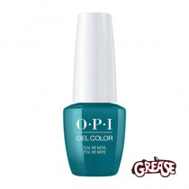 OPI GelColor Teal Me More Teal Me More Grease Collection 15ml