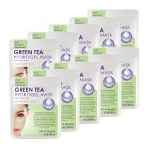 Skin Republic Hydrogel Green Tea Hydrogel Face Mask Sheet Pack of 10