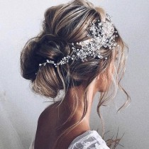 Ulyana Aster Tiffany Hair Accessory Silver