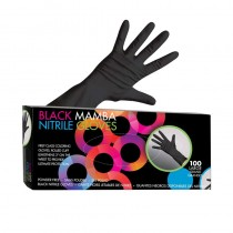 Framar Black Mamba Nitrile Gloves Small 50 Pairs