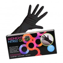 Framar Midnight Mitts Gloves Nitrile Gloves Medium 50 Pairs