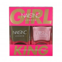 Nails Inc Girl King Duo Kit 2 x 14ml