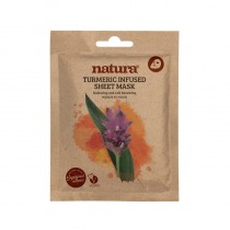 BeautyPro Natura TURMERIC INFUSED sheet mask 25ml