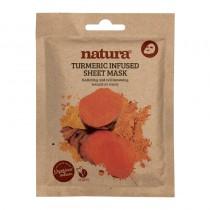 BeautyPro Natura TURMERIC INFUSED sheet mask 25ml