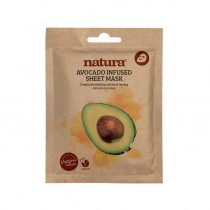 BeautyPro Natura AVOCADO INFUSED sheet mask 25ml