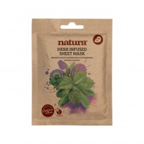 BeautyPro Natura HERB INFUSED sheet mask 25ml