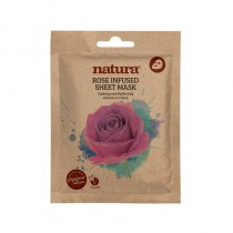 BeautyPro Natura ROSE INFUSED sheet mask 25ml