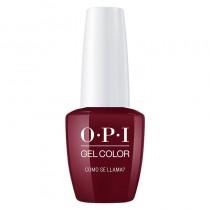 OPI Gel Color Como Se Llama 15ml Peru Collection