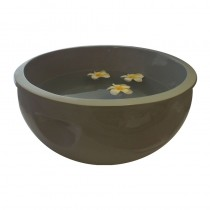 Resin Pedicure Bowl Grey