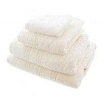 Opulence Luxury Cream Face Towel 30 x 30cm