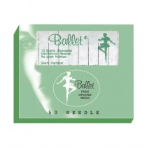 Ballet Stainless Steel Needles F6 006 (x50)